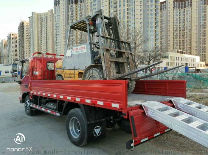 叉车专用铝梯上下卡车铝合金爬梯855503095