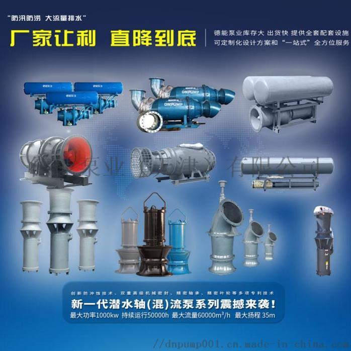 德能泵業大功率潛水軸流泵841480702