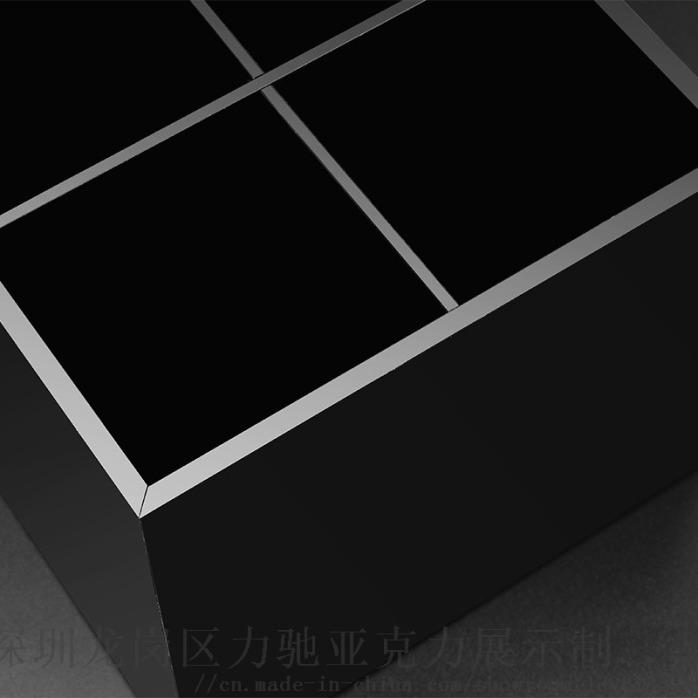 收纳黑色亚克力口红收纳盒 深圳口红收纳盒863690995