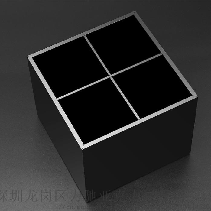 收纳黑色亚克力口红收纳盒 深圳口红收纳盒863691005