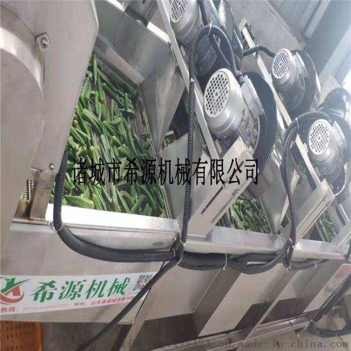 四川鲜花椒加工设备 全自动保鲜花椒清洗杀青生产线109290872