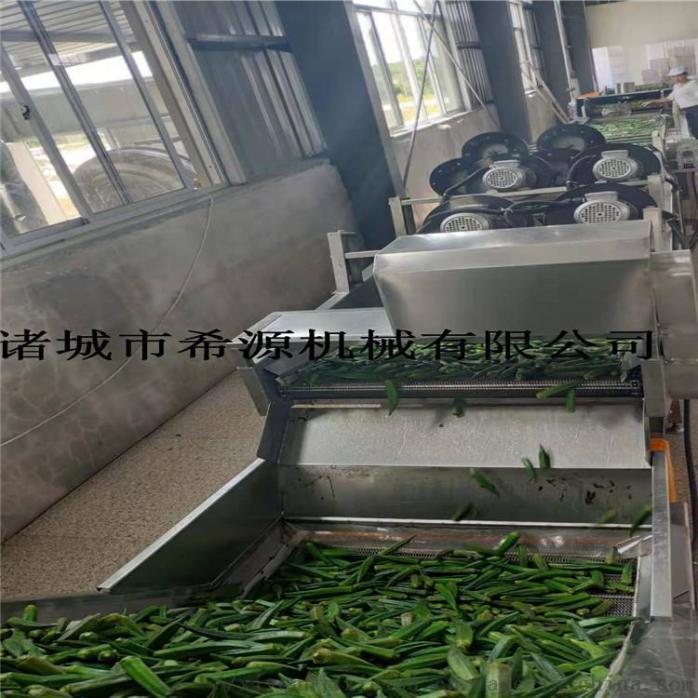 四川鲜花椒加工设备 全自动保鲜花椒清洗杀青生产线109290842