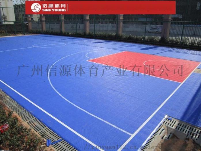 懸浮地板籃球場-專業可拆卸懸浮地板籃球場鋪設866373065