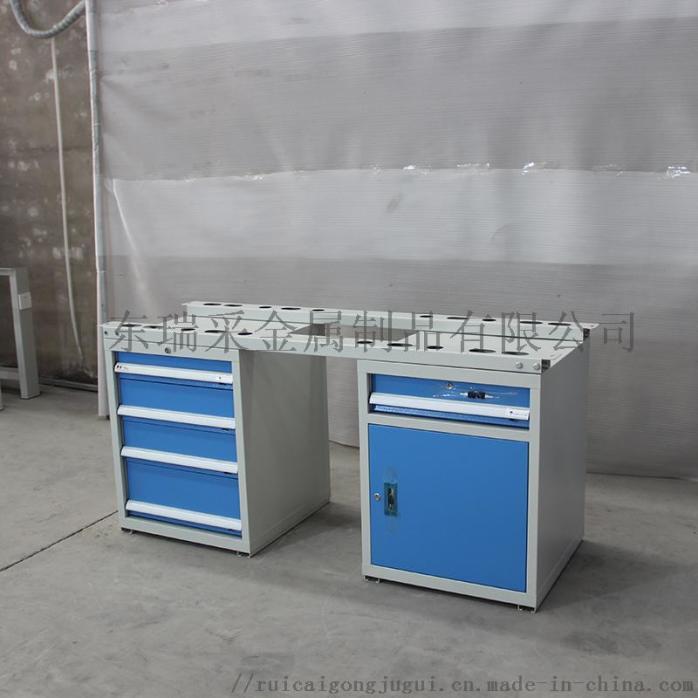 HDA15040 左边四抽屉工具柜右边一抽单开门 防静电工作桌 (1).JPG