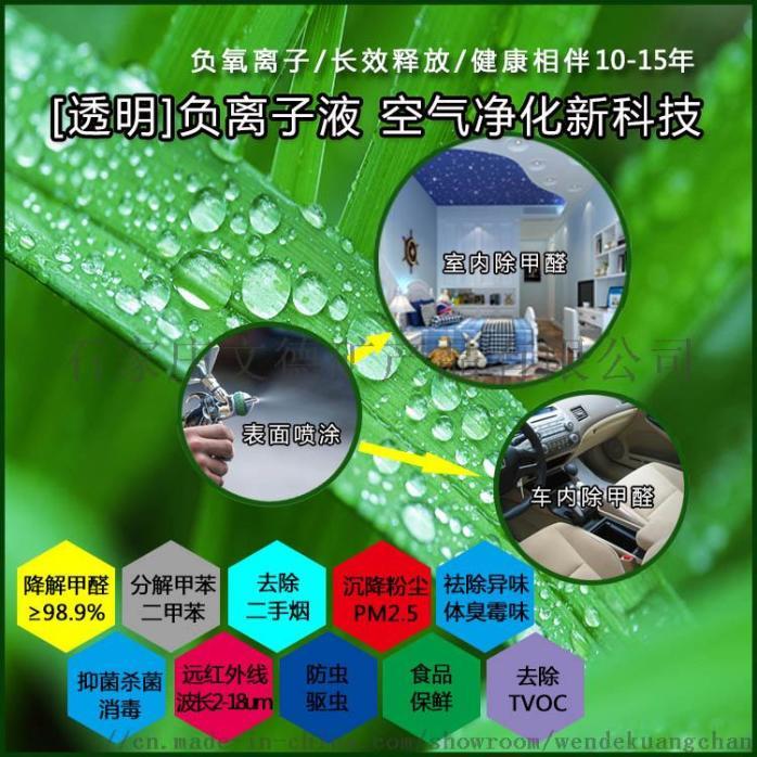 汽车内饰车内除甲醛液态负离子,室内装修污染空气治理110855755