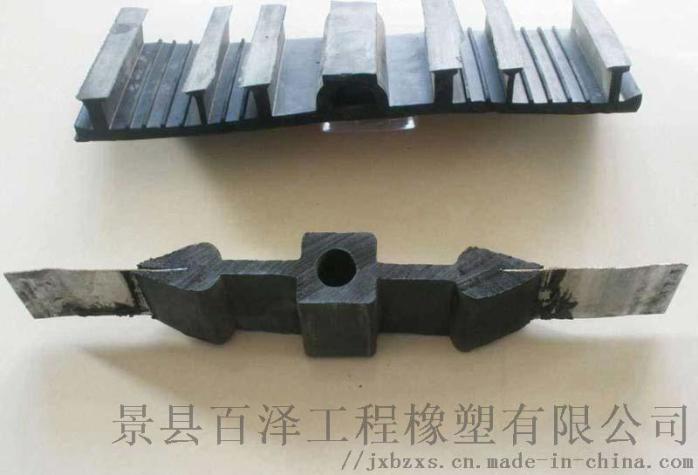 钢边橡胶止水带 佳木斯百泽变形缝橡胶止水带116837612