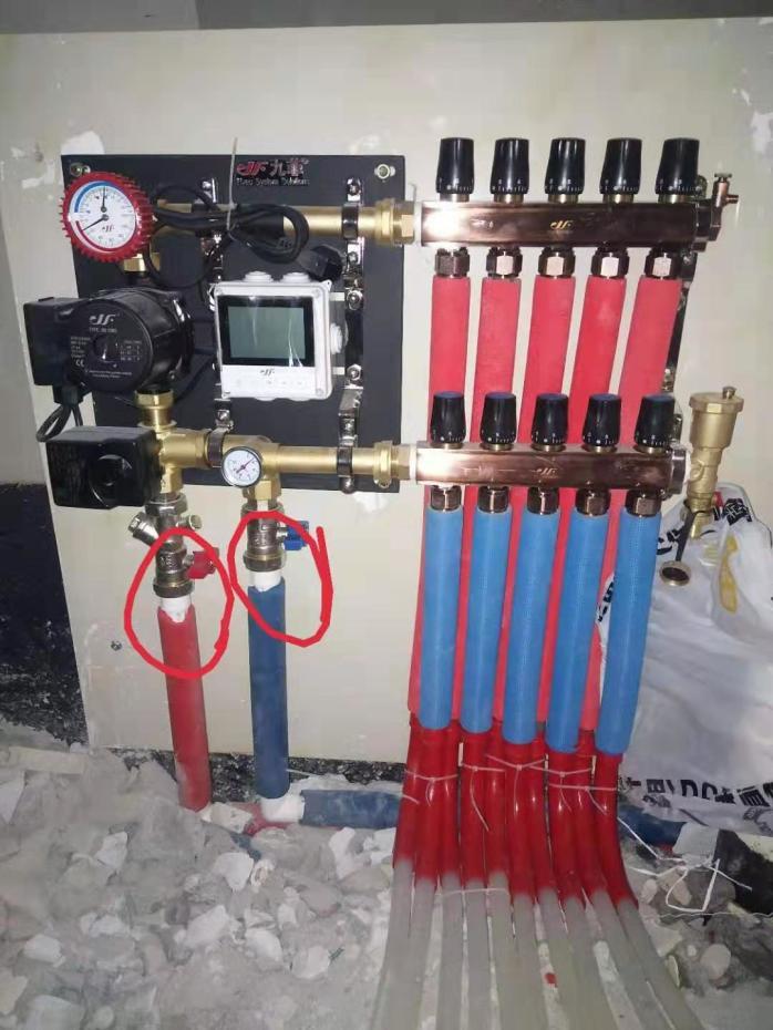 成都九菲大流量分水器,DN32大流量分水器厂家120619145