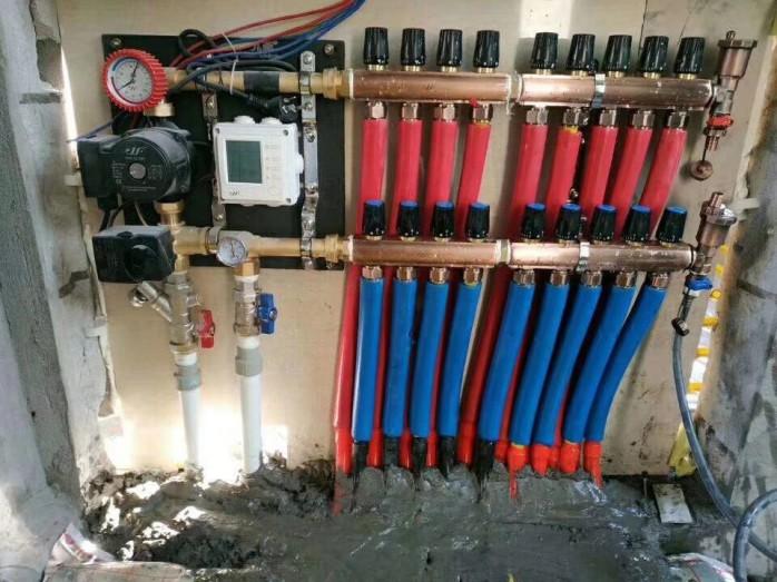 成都九菲大流量分水器,DN32大流量分水器厂家120619135