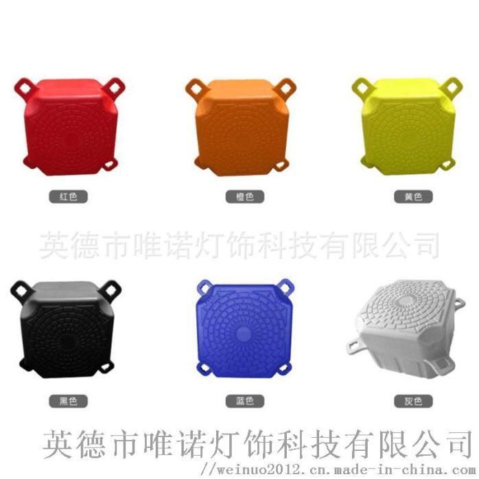 滾塑加工廠家生產直銷水上設施用品多彩塑料PE浮球 (7).jpg