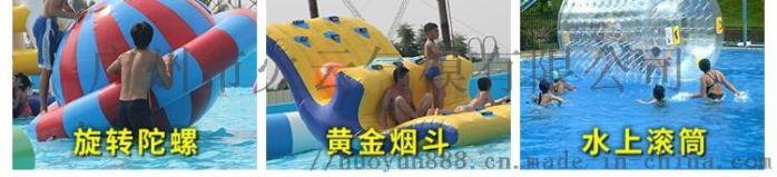大型水上樂園設備廠家兒童動漫水世界充氣闖關衝關游泳池戶外玩具121202485