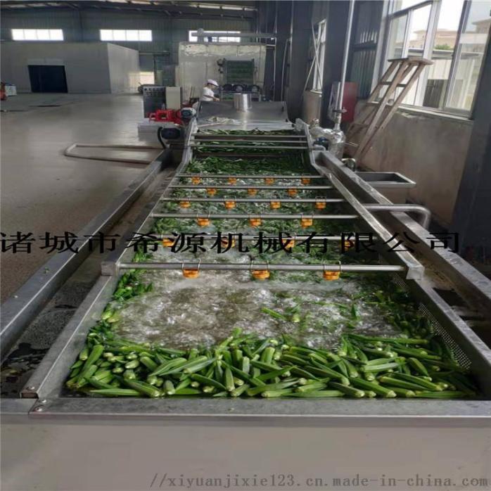 四川鲜花椒加工设备 全自动保鲜花椒清洗杀青生产线109290862