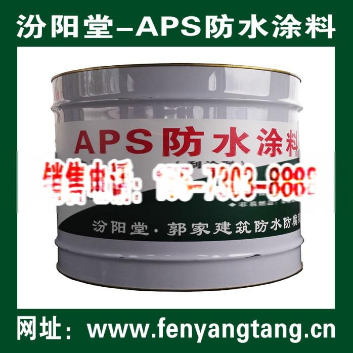 生产厂家、APS防水涂料生产厂家、APS-高强防水防腐密封涂料生产直供.jpg