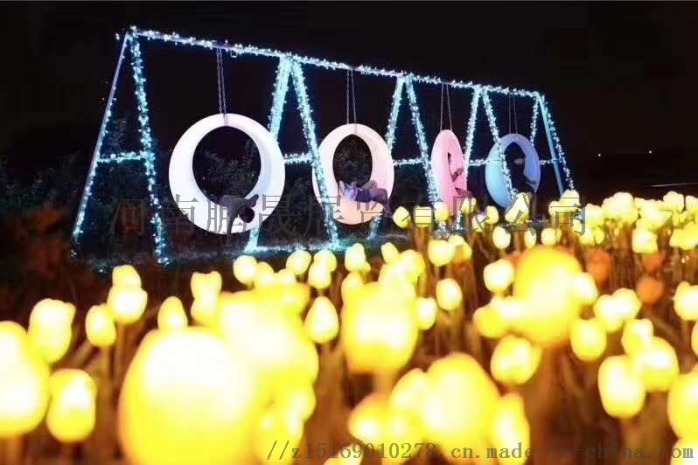 商业美陈灯光亮化 暖场互动设备 租赁854664442