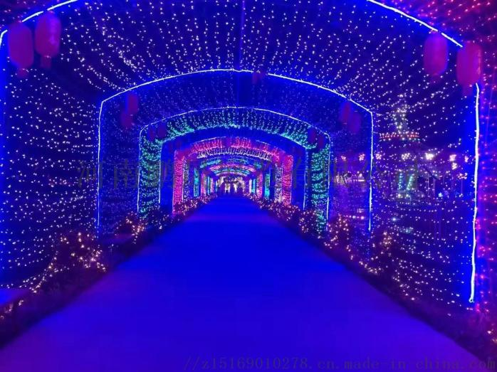 梦幻灯光节 灯光造型 专业灯光打造851683592