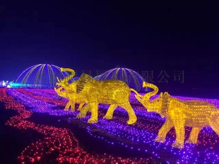 梦幻灯光节 灯光造型 专业灯光打造851683572