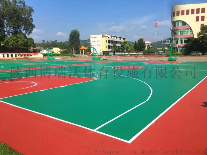 百色篮球场,百色塑胶篮球场报价856638712
