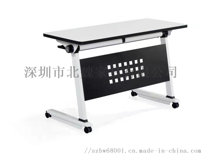 梯形洽谈美术培训桌组合拼接简约现代培训桌124382735