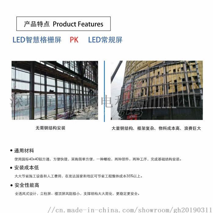 国浩光电GH-P10防水LED格栅屏126934985