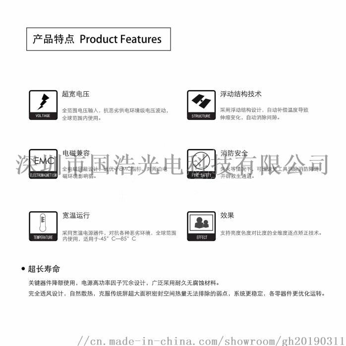 国浩光电GH-P10防水LED格栅屏126935005