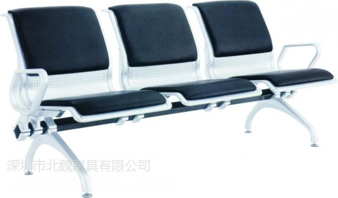 金属制品排椅-三角横梁不锈钢机场椅-候车椅-等候椅8483572