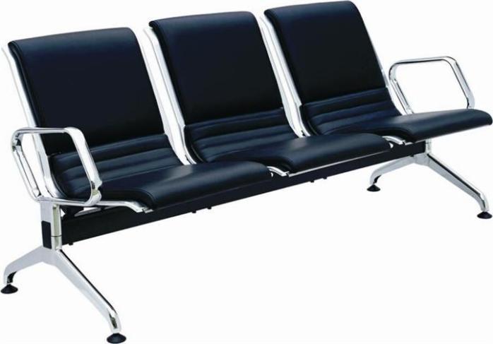 PU排椅、休闲机场排椅、公共等候排椅、铁电镀公共排椅、金属排椅14247375