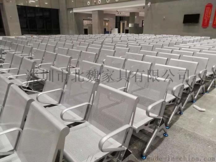 公共大廳等候椅-大廳連排椅-大廳公共區鋼製連排椅-不鏽鋼等候大廳排椅130836905