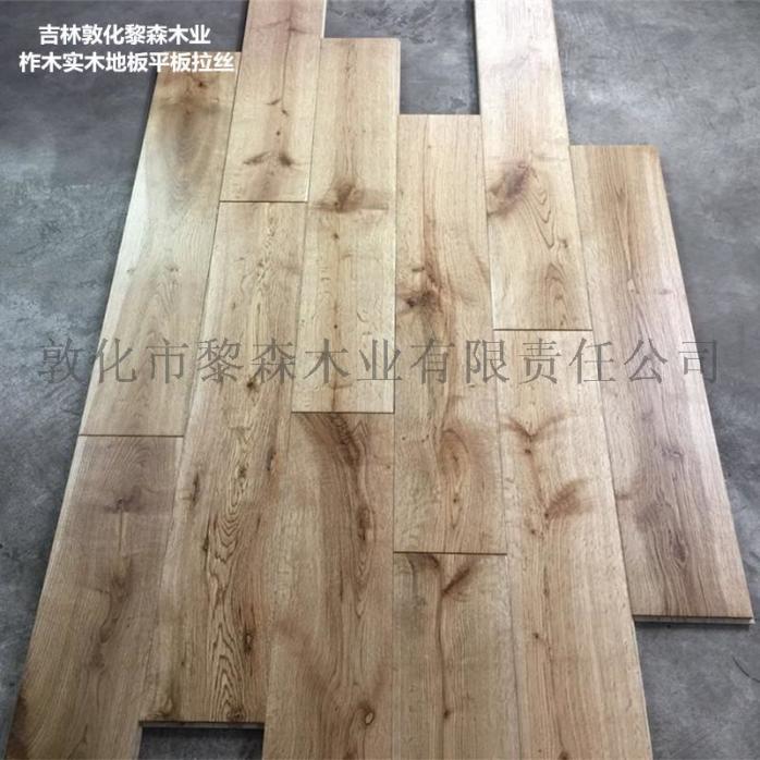 柞木实木地板复古平板拉丝UV漆102654425