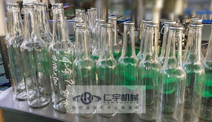 玻璃瓶压盖机