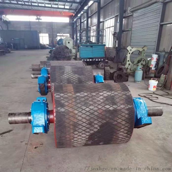 1.2米皮带机铸胶主传动滚筒 山西聚氨酯主传动滚筒867056282