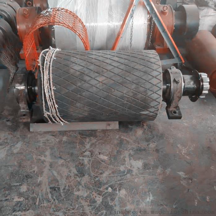 1.2米皮带机铸胶主传动滚筒 山西聚氨酯主传动滚筒867056252