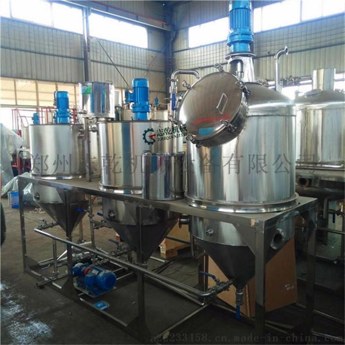 菜籽油精炼油设备 动物油炼油生产线 精炼油设备厂家59714465