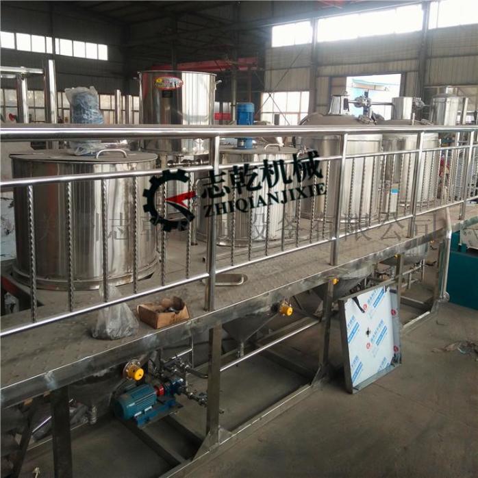 菜籽油精炼油设备 动物油炼油生产线 精炼油设备厂家768853635