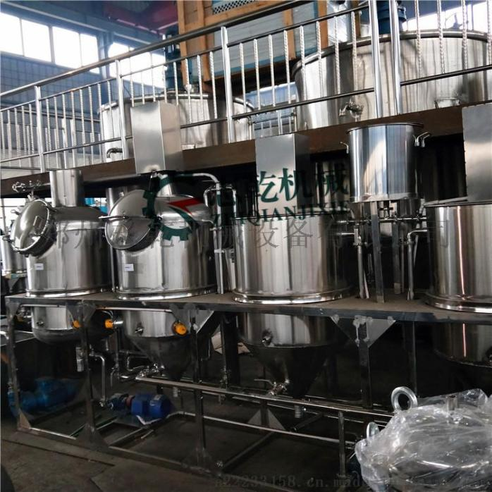 菜籽油精炼油设备 动物油炼油生产线 精炼油设备厂家768853645