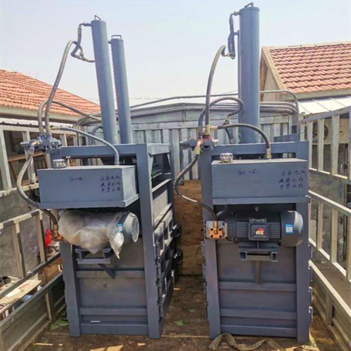 工作服液压打包机 多功能捆包机 旧衣服液压打包机135158512