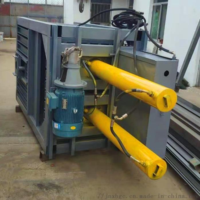 快递纸箱立式液压捆包机 废品60吨立式液压捆包机866326322