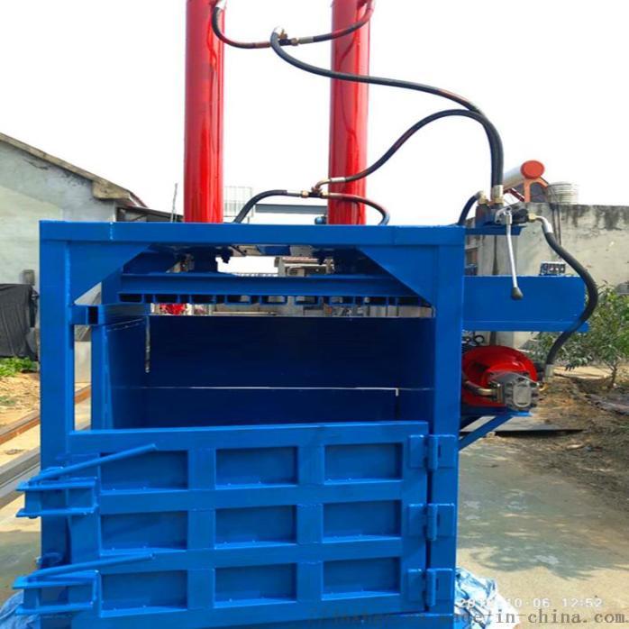 纸箱包装盒回收压缩液压捆包机 现货60吨液压捆包机132286312