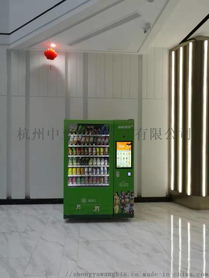 浙江中亞冰淇淋售賣機冷凍售貨機892530745