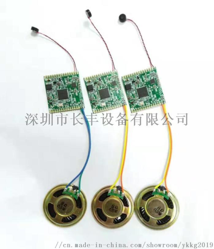 智慧家居 AI語音識別模組 電動門語音遙控模組904681825