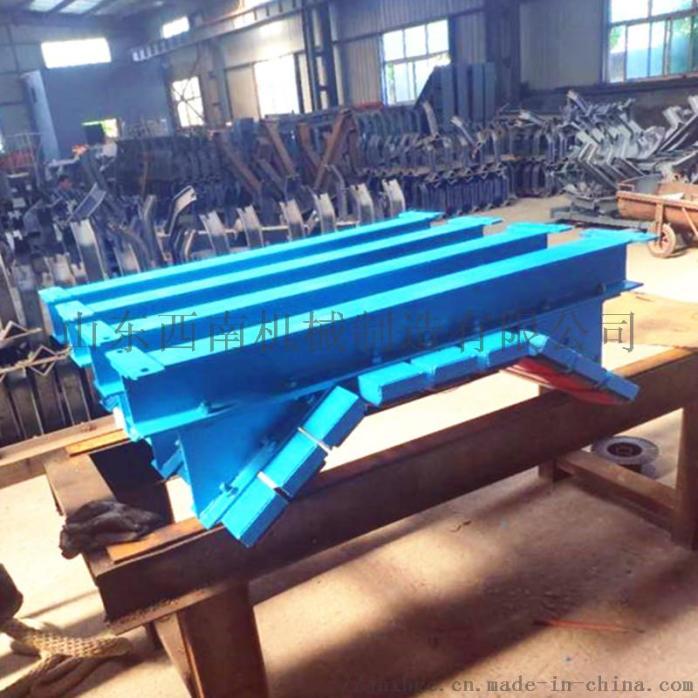 1.2米皮带机缓冲床,阻燃缓冲条有煤安,重型缓冲床121329732