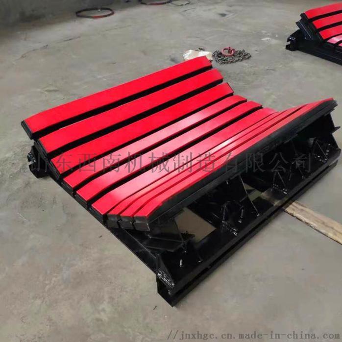 1.2米皮带机缓冲床,阻燃缓冲条有煤安,重型缓冲床121329692