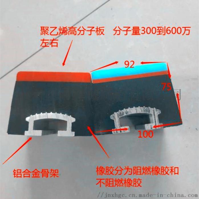 1.2米皮带机缓冲床,阻燃缓冲条有煤安,重型缓冲床121329742