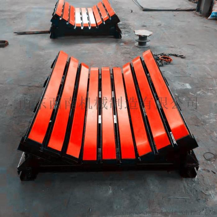1.2米皮带机缓冲床,阻燃缓冲条有煤安,重型缓冲床850738092