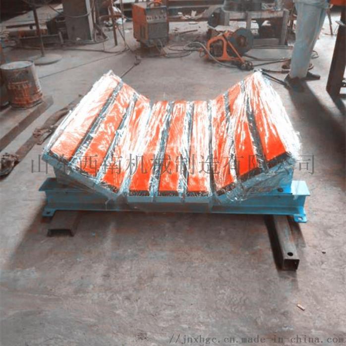 1.2米皮带机缓冲床,阻燃缓冲条有煤安,重型缓冲床850738112