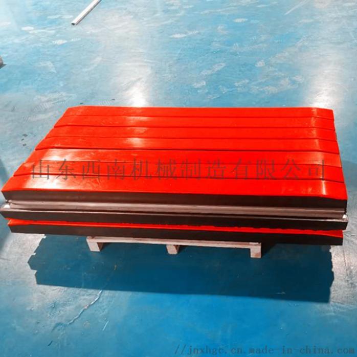 1.2米皮带机缓冲床,阻燃缓冲条有煤安,重型缓冲床121329562