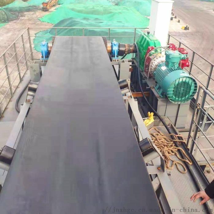 精煤高架皮带输送机 1.2米上运皮带输送机安装134056902