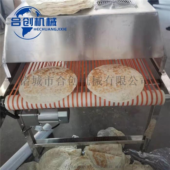 全自动小型单饼机 商用单饼机 单饼机厂家流水线138389812