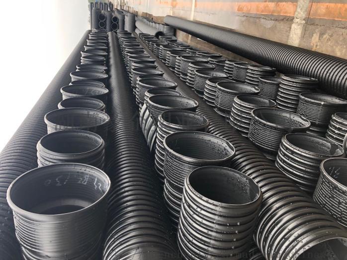 湖南长沙HDPE双壁波纹管排污管市政管道波纹管138788805