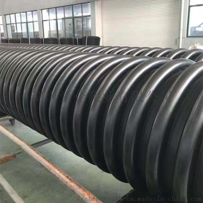 湖南豪企HDPE双壁波纹管塑料排污管  原因910455245