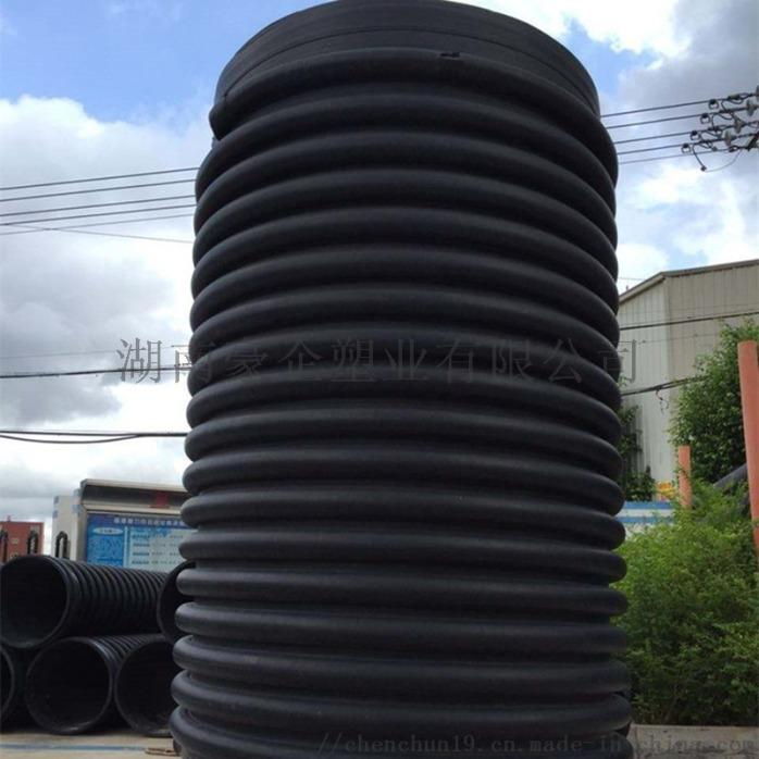 湖南蓝山B型克拉管克拉管增强缠绕管B型管现货138526445