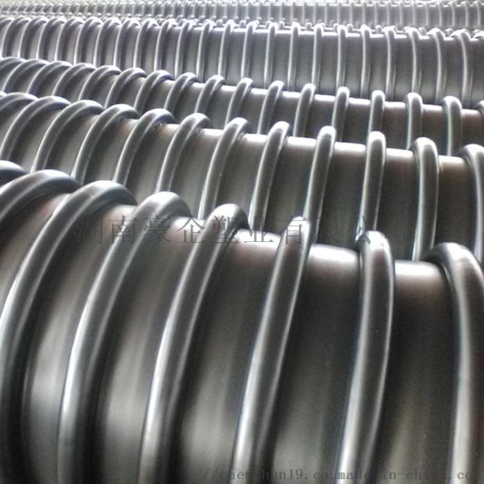 湖南蓝山B型克拉管克拉管增强缠绕管B型管现货138526455